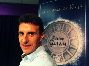"""Felipe Galán: """"La Sombra de Nayá no tiene nada que ver con el famoso fin del mundo, sino con el secreto mejor guardado por los mayas"""""""