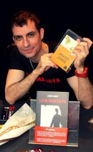 Javier Jorge, de reportero televisivo a probar suerte en el mundo de las letras