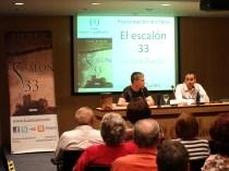 Presentación 'El escalón 33' en Corte Inglés Zaragoza