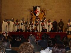 Presentación de Castillos de Aragón en el castillo templario de Monzón enero 2012