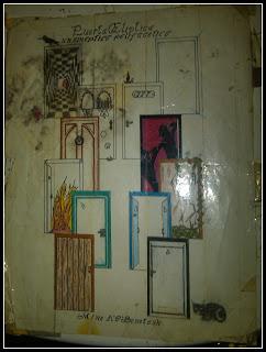 Anterior portada de 'La Puerta Elíptica'