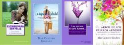 Los libros de la escritora Mar Cantero Sánchez