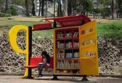 Colombia cuenta con 100 bibliotecas pequeñas en los parques públicos