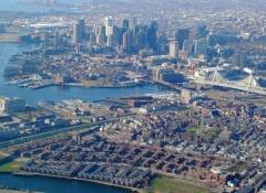 Vista panorámica de la ciudad de Boston