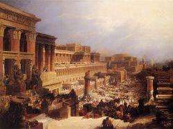 """""""Salida de los Israelitas de Egipto"""", de David Roberts, 1829"""