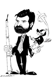 Caricatura del autor/ www.francisconarla.com