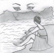 Boceto de la portada de la obra