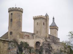 Castillo de Foix, uno de los escenarios de 'Tierra sin rey'