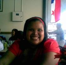 Zakira Pineda, de Panamá