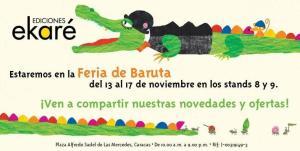 Feria del Libro Baruta en marco al Festival de las Artes y la Lectura en la Plaza Alfredo Sadel, Caracas.