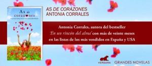 Banner de la nueva novela de Antonia J. Corrales