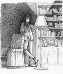Una de las ilustraciones interiores del libro