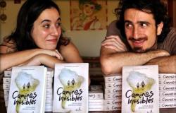 """Laura Lazzarino y Juan Pablo Villarino, los autores de """"Caminos invisibles"""""""