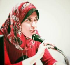 الكاتبة المصرية، ياسمين ثابت