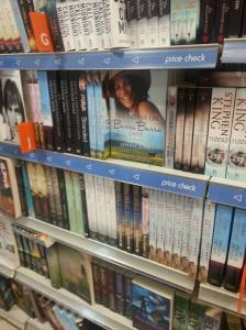 The book in the bookstores in Australia