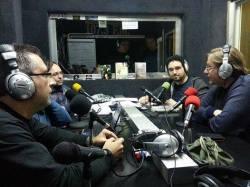 """Presentación del libro en el programa """"El Abrazo del Oso"""", de Onda Merlin Comunitaria"""