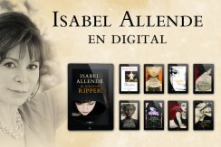 Penguin Random House lanza el día 03/01/14 en Ebook, junto con la novedad EL JUEGO DE RIPPER, 7 de sus obras más emblemáticas como LA CASA DE LOS ESPÍRITUS o PAULA.