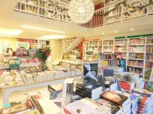 La librería acoge muchos eventos literarios
