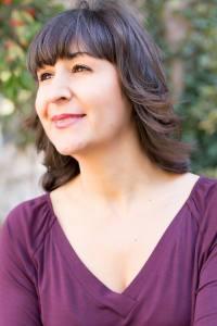 La autora, en una imagen de Carlos Lucca
