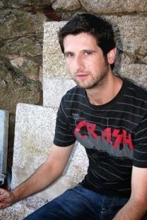 El escritor pontevedrés Pablo A. García