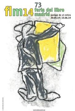 Cartel de la nueva edición de la Feria del Libro de Madrid