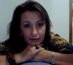 La escritora colombiana Isabel Acuña