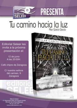 Próximo acto de presentación de la novela  que será en Zaragoza