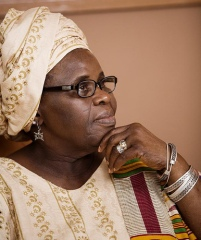 Ama Ata Aidoo, a Ghanaian playwright and former Education Minister of Ghana