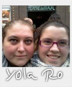 Yolanda y Roser, las autoras