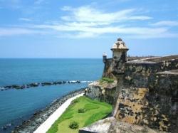 Castillo de El Morro, en Santiago de Cuba. Uno de  los lugares plasmados en la historia.
