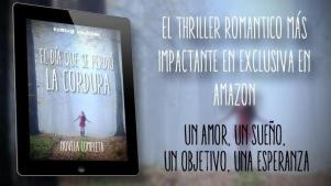 Cartel promocional de la novela