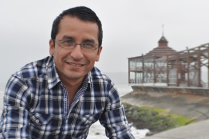 Jaime Alvarado, poeta de Lima afincado en España