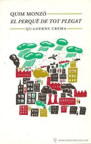 'El perquè de tot plegat', un llibre de Quim Monzó