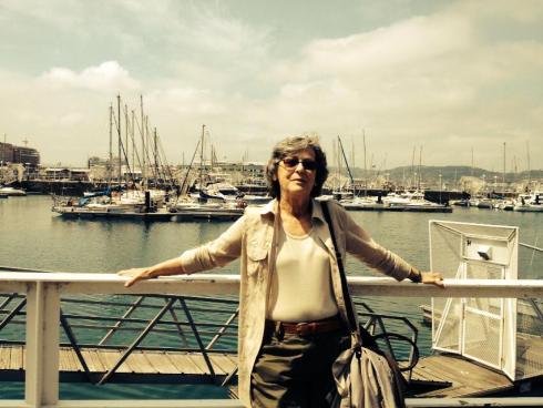 """Mercedes Gallego: """"La saga de Candela la ideé para serie de Televisión porque el Grupo Especial de Policía Femenino se trata de una figura histórica que no ha aparecido en ningún sitio"""""""