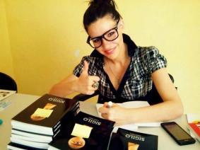 Cristina Valero Martos, autora de 'Sigilo'