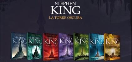 La Torre Oscura es una serie de libros escrita por el autor estadounidense Stephen King, que incorpora temas de múltiples géneros, incluyendo fantasía, fantasía científica, terror y western.