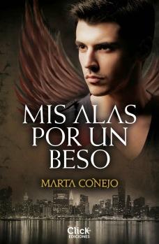 Portada de la primera novela de la escritora toledana Marta Conejo