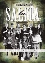 Portada de la novela con Ediciones Dauro