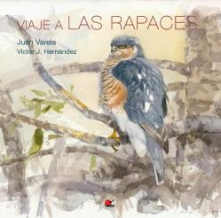 Portada del libro con ilustración de un gavilán en acuarela. Por Juan Varela Simó