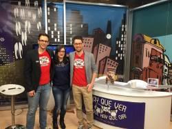 Virginia Mendoza tras la entrevista en InformaciónTV
