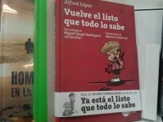 'Vuelve el listo que todo lo sabe', nuevo libro de Alfred López