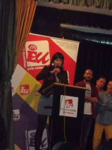 Antonia Cascales, candidata a la alcaldía por EU