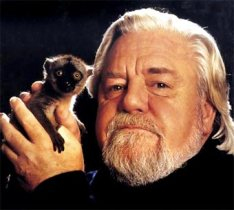 Gerald Durrell, the famous British writer and naturalist