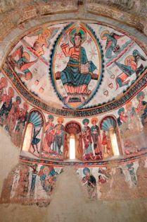 Murales del ábside de Mur Museum of Fine Arts, de Boston
