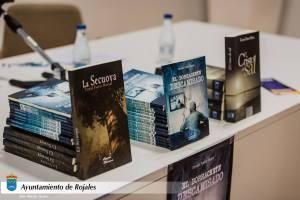 Sus tres novelas publicadas con la editorial alicantina ECU