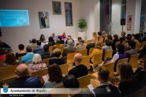 Acto de presentación de la novela. Por Mario Araez (Ayuntamiento de Rojales)