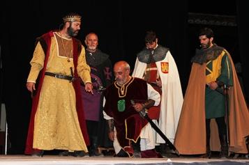 El destierro del Cid Huerta de Rey